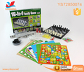 Plastic chess game family happy time for play chess have 16 kinds of chess game