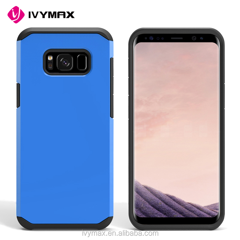 2017 IVYMAX new arrival unique design TPU+PC free sample phone case for galaxy s8 mobile phone case for samsung galaxy s8 case