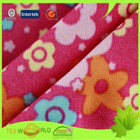 Stretch Nylon Spandex Tricot Printed Knitting Fabric