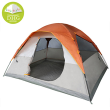 Extra Large Folding outdoor bed camping tent with bed