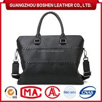 Best Selling Branded Laptop Bags Men Cowhide Leather Briefcase