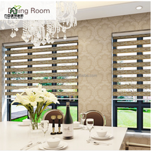 Fangju zebra shades keep privacy and enjoy sunlight zebra double layer roller blind