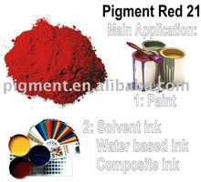 Yellowish Pigment Red 21 for Water-based ink
