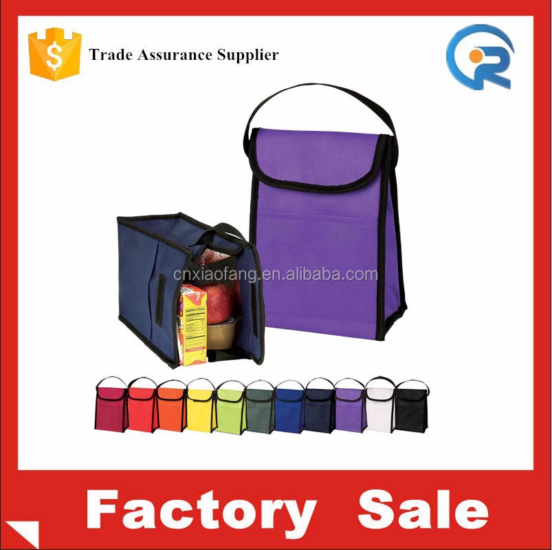 OEM non woven school lunch bags for girl