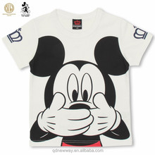 children clothing mikey mouse kids cartoon t shirt wholesale for boys and girls
