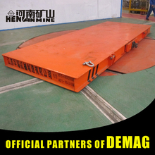 High Speed Electric Pallet Low Bed Car With Rail And Flatbed