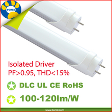 Isolated led driver ballast compatible t8 led tube 90-277v directly replace fluorescent for hotel