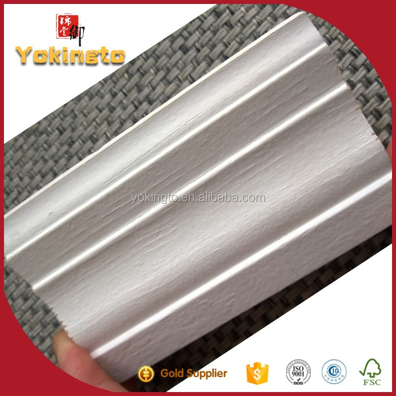 Skirting base board cover / wood moulding frame line / mdf casing ceiling