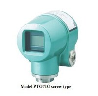 4-20mA Azbil Screw Type Smart Pressure Transmitter PTG71G