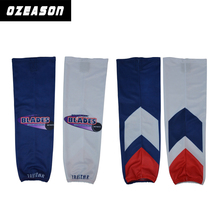 Customized sublimation cheap ice hockey socks free design