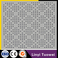 Hot Selling Acoustic Perforated Gypsum Plaster