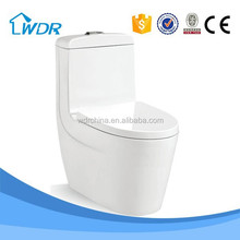 Sanitary ware wholesale ceramic one piece dual flush toilet