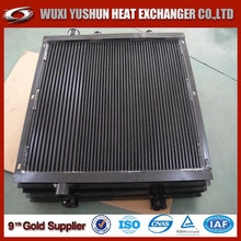 Hot selling OEM custom made aluminum china air compressor oil cooler /oil radiator