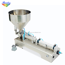 High accuracy pneumatic tube grease filling machine for industrial