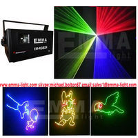 11500mw 1.5 watt RGB laser light show beam scanner stage lighting dj systems