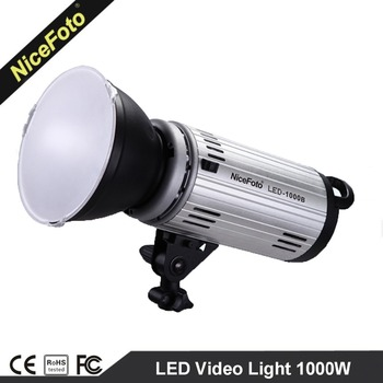 NiceFoto Photographic Equipment Professional LED Video Light 1000W