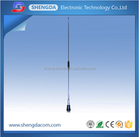 Long distance 136-174MHz diamond VHF whip stainless steel mobile antenna for car or radio with PL259 connector