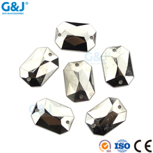Guojie yiwu wholesale custom ABS flatback resin hot fix stone crystal rhinestone for shoes/diy/decation/garment/bags sample free