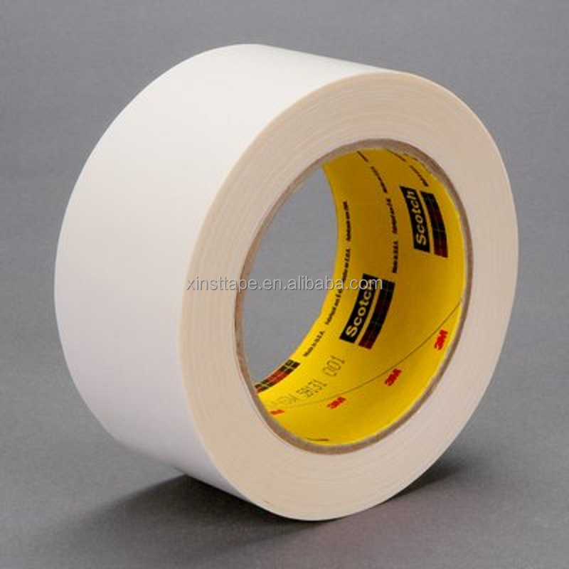 3M 906W Excellent Heat Resistance Repulpable Flying Splice Tape For Flying Splice At Off-machine Coater