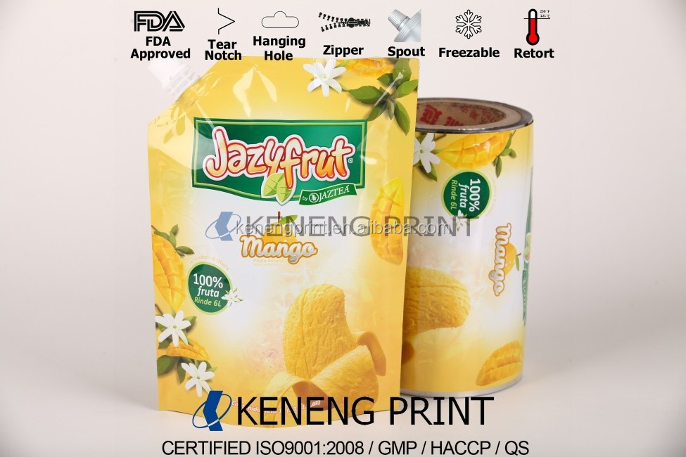 Hot Sale High Barrier Juice Packaging Material