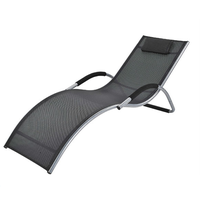 Outdoor loungers Beach Deck Leisure Chair Zero Gravity lounge