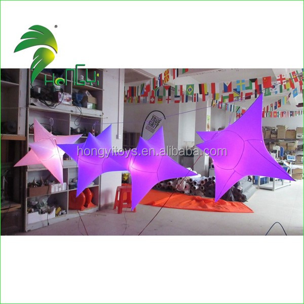 Event / Party Lighting Inflatable Decoration Star with LED Light