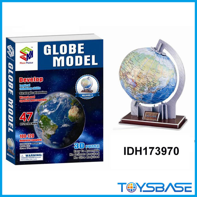 Educational Solar System building blocks Cardboard 3D puzzle