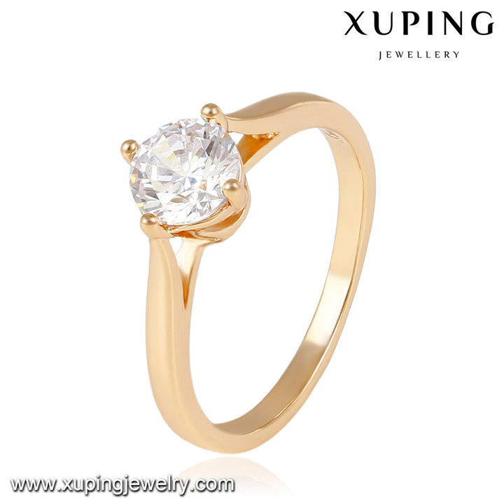 14044- Xuping Jewelry Fashion 18K Gold Plated wedding Rings
