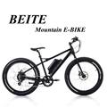 Aluminum Alloy 6061Fat tire electric bike with pedal