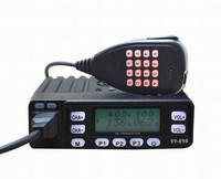 TC-898UV High quality Voice Compand 10W Mini Mobile radio Dual band Mobile two-way radio