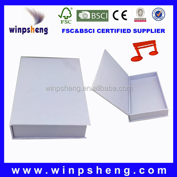 OEM ShenZhen Factory Recordable Music Gift Box