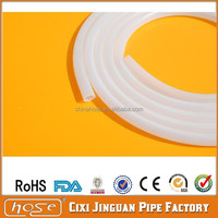 Supply Best UK, America USA FDA Test Medical & Food Grade 12mm Solid Silicone Rubber Tube, Transparent Silicone Tube