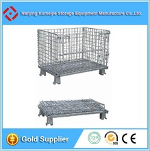 Folding Steel Wire Mesh Dog Crate