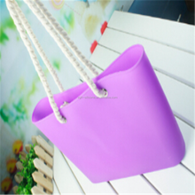 New product foldable rubber silicone beach bag for man
