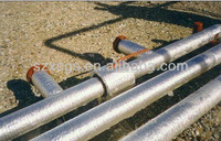 thermal insulated material, Self adhesive heat reflective material for oil pipeline