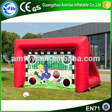 outdoor inflatable soccer shooting speed cage inflatable batting cage for football game