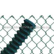 Home & Garden product plastic coated chain link fence for building boundary