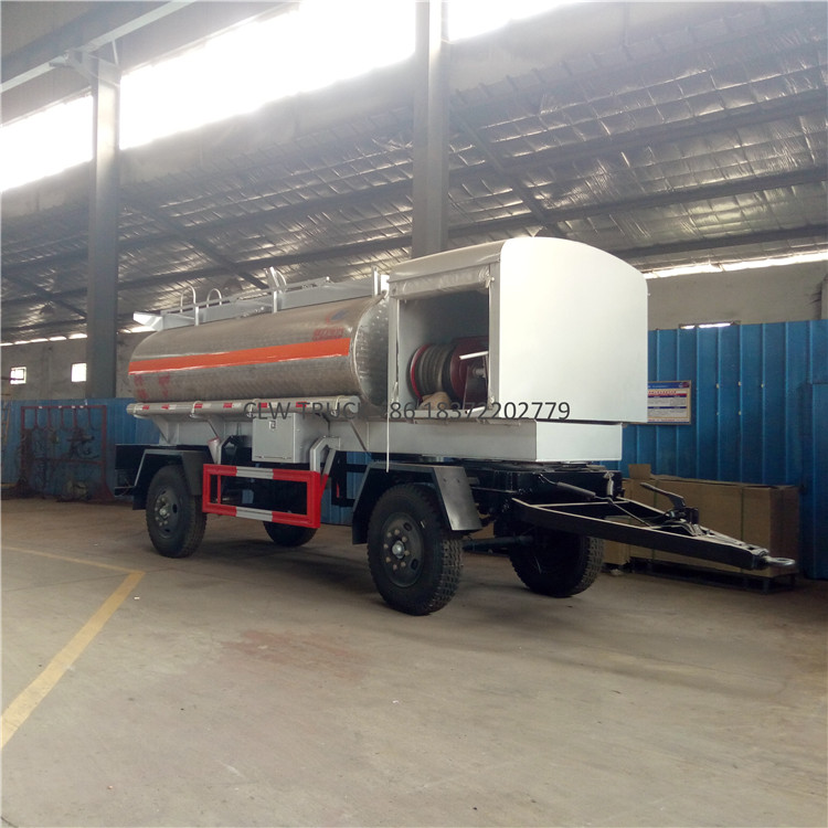 8m3 vegetable oil edible cooking oil delivery truck Aluminum refuel truck log trailers with grapple