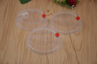 Disposable Clear Plastic PP Hot Coffee Cup Lid