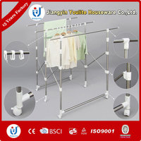Multi-bar rotating clothes airer