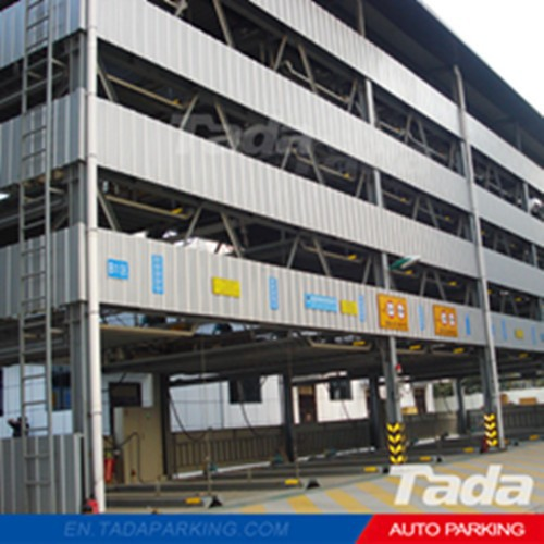 PSH steel structure parking area/smart auto parking system/stacker car parking system for project and building