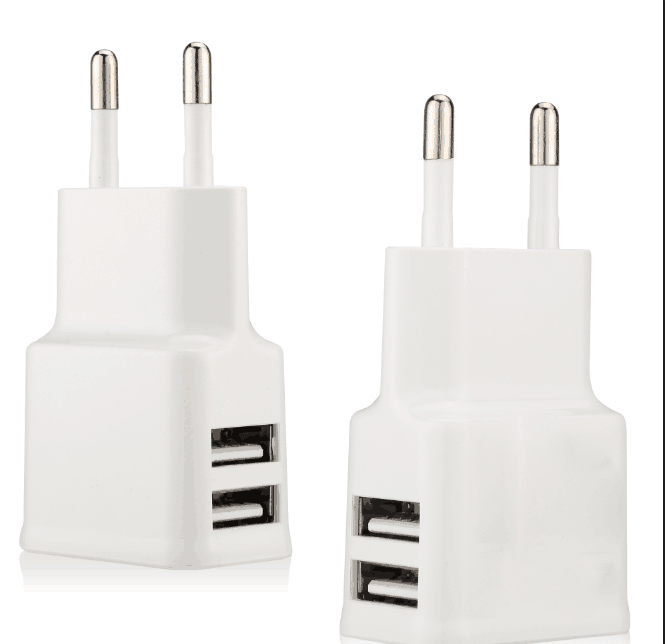 wholesale mini style 5V 2.1A travel adapter changeable plug for iphone samsung