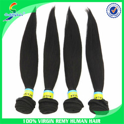 High quality 100% malaysian straight virgin human hair extension hair weave wholesale