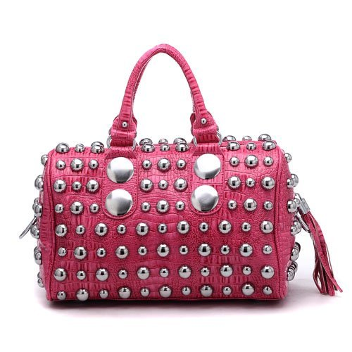 Newest studs pu handbags G5190
