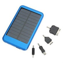 5000 mah solar energy portable charger li-polymer battery power bank for smart phone