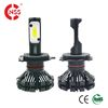 Fanless All-in-one Design High Power 6000lm Auto LED Headlight Car H4