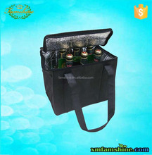 eco friendly promotional non woven wine bottle gel cooler bags