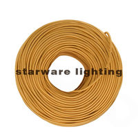 Fabric wire for pendant lamps braided cable with light holder for hanging lamps/Copper