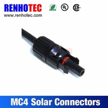 Male/Femal Gender mc4 solar connector PV Connection Plugs