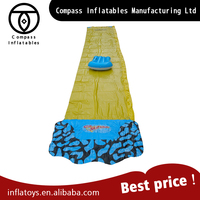 Outdoor sports cheap pvc giant inflatable water slide